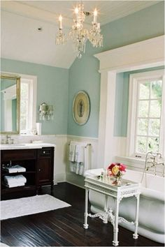 1000 images about blue walls white trim on pinterest for Blue walls white trim