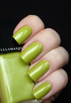 AllYouDesire: Illamasqua Radium from the Toxic Nature Collection 2011 - Swatches and Review... love this color