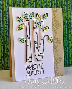 My Joyful Moments: Paper Smooches Sparks Lace Autumn Grooves stamp set