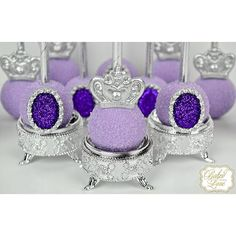 Cake pops fit for a princess  Sofia the First inspired cake pops for Adri's 4th…