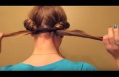 She Tucks Her Hair Into A Headband. When She Takes It Off The Next Day, The Result Is Stunning