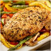 Recipe: Grilled Chicken and Vegetables