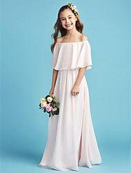 065b39018 Salón Hasta el Gemelo Vestido de Niña Florista - Satén Sin Mangas Joya con  Lazo(s) por LAN TING BRIDE®