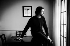 Adam Driver photographed for the LA Times (2016)
