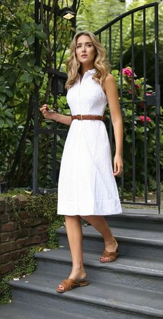 Style Summer Dress Shirts 31 Ideas For 2019 Simple Dresses, Casual Dresses, Summer Dresses, Summer Skirts, Classy Dress, Classy Outfits, Classy Chic, Vestidos Vintage, Vintage Dresses