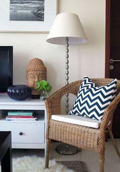 10 Quick & Easy Designer Pick-Me-Ups  Allison Egan Decor, via Apartment Therapy