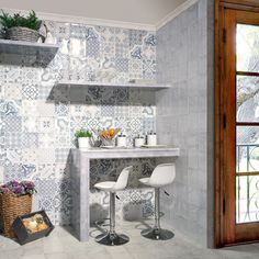 Antiqua Decor Wall Tiles Tangier Wall Tiles 200x200x9mm Tiles
