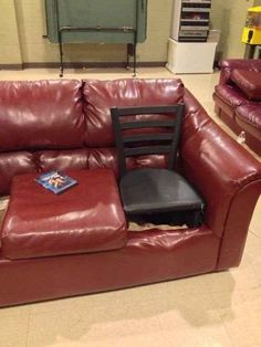 IT'S OK, COUCH. NO ONE WILL EVER HURT YOU AGAIN: | 24 Pictures That Prove That Life Hacks Have Gone Way Too Far