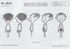 Varga Budapest - Mr Bean: The Animated Series Model Sheets Animation News, Flash Animation, Animation Reference, Animation Series, Art Reference, Character Model Sheet, Character Modeling, Character Concept, Character Design