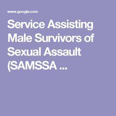 Service Assisting Male Survivors of Sexual Assault (SAMSSA ...