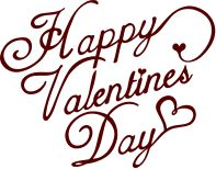 Happy Valentine S Day A Free Svg Dxf Sentiment Download By