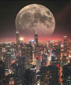 Here are a selection of amazing and awe inspiring supermoon 2016 images for your enjoyment and creative inspiration. The sky at night never looked so good as when illuminated by the light of a true supermoon. Beautiful Moon, Beautiful World, Beautiful Places, Moon Photos, Moon Pictures, Photographie New York, Shoot The Moon, Photo Portrait, City Aesthetic