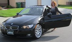 """""""Perfect day to enter a contest! Today is my anniversary with my car 'Ms. Bimma'! I still walk out into the parking lot sometimes and think, 'Wow, that's a good looking car!' Then I realize I am checking out MY car! I love my Vi BMW!"""" - Chelsea Cameron"""