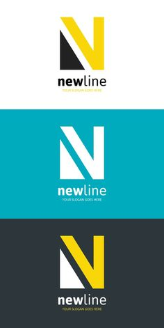 New Line Logo - Letter N