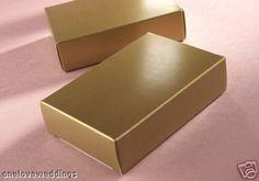 50 Gold Wedding Birthday Party Cake Boxes Favours New Confetti Heaven http://www.amazon.co.uk/dp/B00336ZVLQ/ref=cm_sw_r_pi_dp_xn.kub1QM4FTG