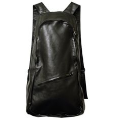 CURE - www.mymist.it - black leather backpack
