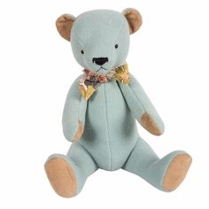 Luxury Baby Gifts ! This heirloom bear by Maileg is too cute and perfect to complement an adorable gift.