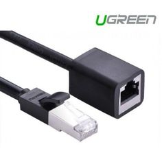 UGREEN Cat 6 FTP Ethernet RJ45 Male/Female Extension Cable 3M (11282) UGREEN NW112 CAT6 UTP Ethernet RJ45 Extension Male/Female Patch Cords is designed to extend your exsiting ethernet connection, like switch boxes, routers, network printers, network attached storage (NAS) devices, VoIP phones, and PoE devices. It is made of 4 pairs twisted copper wire, with much better than performance than copper clad aluminum (CCA) wire. The clip protector keeps the RJ45 connector from unwanted snags while ro Cable, Patch Cord, Cloud Computing, Computer Accessories, Extensions, Printer, Copper Wire, Female, Free Shipping