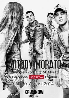 +++ 30. AUGUST 2014: ANTONY MORATO IN BEESKOW +++ Antony Morato ist eine der innovativsten jungen Fashionmarken. Das italienische Label hat einen eigenen und ausgeprägten Stil und ist in über 70 Ländern weltweit bekannt. Freut euch auf die große Opening Party am 30. August.