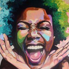 African Paintings, African Art, Portraits, Portrait Art, Romantic Drawing, Black Art Pictures, Call Art, Feminist Art, Art Pop