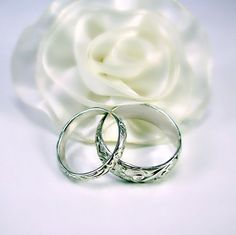 Hey, I found this really awesome Etsy listing at https://www.etsy.com/listing/177751479/sterling-silver-wedding-band-set-custom