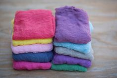CLEARANCE  Lot of Mixed Colored Cheesecloth Wraps by JuicyBerries