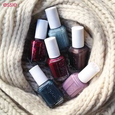 Essie Nail Polish Winter Collection #mani