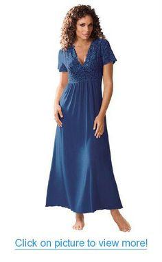 6643ffc3ab0 Amoureuse Women s Plus Size Long Lace Top Gown  Amoureuse  Womens  Plus   Size