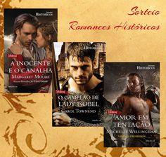 SEMPRE ROMÂNTICA!!: Sorteio Romances Históricos