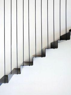Escada na casa 'La Floresta'