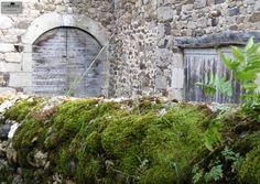 Nature's beautiful way of adding patina ~Vernassal, Auvergne, France