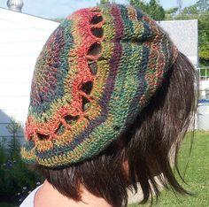Free Crochet Pattern: Hippy Hippy Slouch