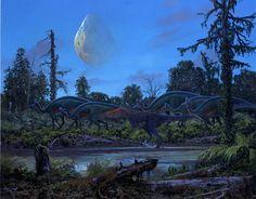 Paleo-Art: Douglas Henderson.