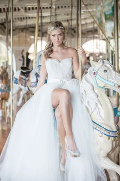Carousel Wedding Ideas http://www.weddingchicks.com/2013/12/03/carousel-wedding-ideas/