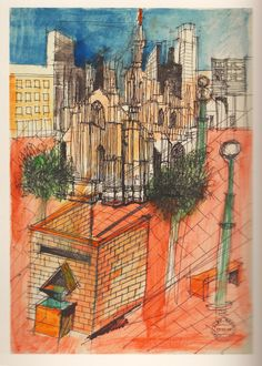 aldo rossi drawings - Google Search