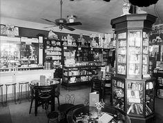Sixth Avenue Drug Store Interior by Marriott Library, University of Utah, via Flickr