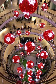 Finland, Christmas decorations in Kamppi shopping mall