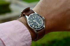 hodinkee:  A seriously mean MilSub is #womw. on Flickr.
