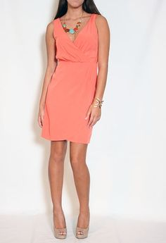 So chic. Tulip Front Dress