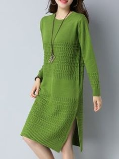 Latest unique fashion dresses StyleWe provides short and long cocktail dresses for wedding and prom. Blue Evening Dresses, Daytime Dresses, Casual Cocktail Dress, Moda Casual, Different Dresses, Crochet Fashion, Cardigans For Women, Knit Dress, Sweater Dresses