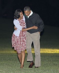President Barack Obama & First Lady Michelle Obama