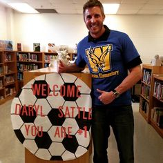 Thank you Winston Elementary for the awesome reception for Daryl. He had a great time reading to the kids!