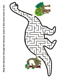 Free printable mazes for kids! Alphabet, dinosaur, numbers, and all kinds of mazes. Dinosaur Worksheets, Dinosaur Printables, Dinosaur Activities, Preschool Activities, Vocabulary Activities, Dinosaur Crafts Kids, Dinosaur Projects, Dinosaur Puzzles, Mazes For Kids Printable