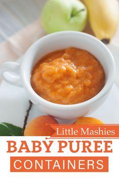 Little Mashies Apple, Apricot & Banana Puree - Little Mashies baby food pouches www.littlemashies.com