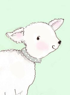 Love little lamb pics....Lamb Art  Nursery Decor  Art for Baby  by RoseHillDesignStudio, $20.00