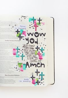 Illustrated Faith | Basics Collection | Puffy Cross Stickers | Bible Journaling by Shanna Noel