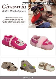 fa1db025b48c64 Children s Giesswein Slippers  Visit us at www.lalapatoot.com  lalapatoot   slippers  kids  wool