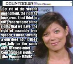 JALLS... (Just Another Liberal Lawn Sausage) Alex Wagner #MSNBC