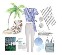 """Untitled #76"" by guadamansilla on Polyvore featuring River Island, Miss KG, Chloé and Ray-Ban"