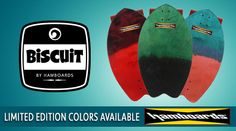 Land surf with #Hamboards. The Biscuit is handcrafted & hand-dyed in California. Get more turn with your mini board. #Ad